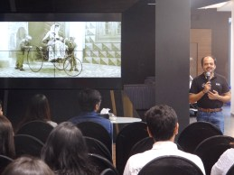 Addressing the participants at at Mercedes Benz Shaman Wheels, Kalina